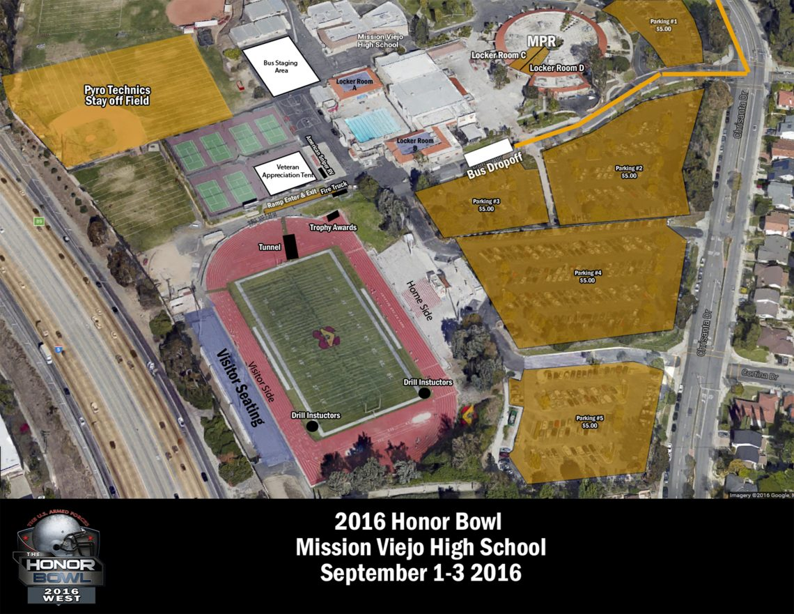 Mission Viejo Aerial Footprint