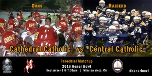 Central Catholic bs Cathedral Catholic