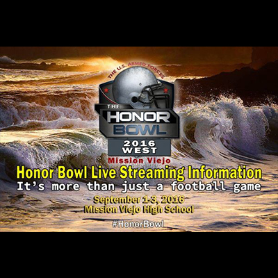 2016 Honor Bowl Game Streaming Information