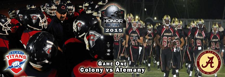 colony vs alemany